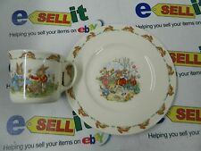 Royal Doulton Bunnykins Childs Cup & Plate