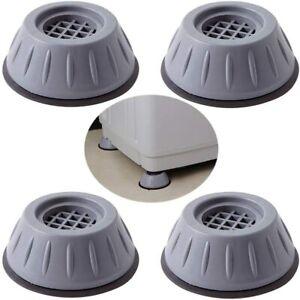 4x Tamponi Anti-vibrazione Tappetino Antiscivolo Antiscivolo Per Lavatrice