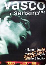VASCO poster VASCO A SANSIRO 2003 nuovo (H.14)