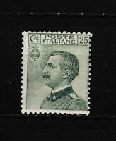 S35617 Italy 1927 MNH New Definitive 25c 1v Saxon 219