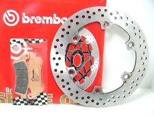 68B407A6 FREIN À DISQUE BREMBO AVANT+PLAQUETTES HONDA ARGENT WING 600 2000 2001