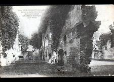 VILLANDRAUT (33) CHATEAU du XIV° Siécle , cliché début 1900