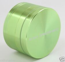 Cali Crusher Herb, Tobacco and Spice Grinder 2.5 Inch 4 Piece Aluminum Green