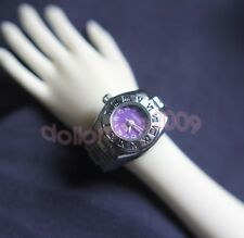 BJD wristwatch 1/3 1/4 Doll Super Dollfie SD MSD Miniature Watch purple #9p