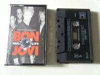 BON JOVI REAL LIFE CASSETTE TAPE SINGLE FROM THE EDTV SOUNDTRACK REPRISE 1999