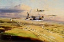 Robert Taylor, Canberras Over Cambridgeshire, autographed by chief test pilot