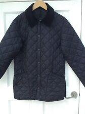 Barbour Black Quilted Liddesdale Mens Jacket Coat XS
