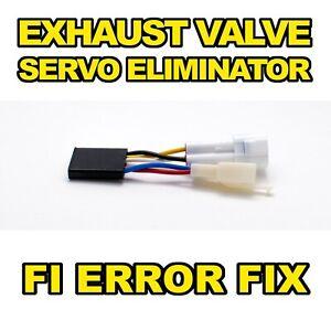 Servo Eliminator Suzuki GSXR1000 k1-k8 2001-2008 FI Exhaust Valve Delete Buddy