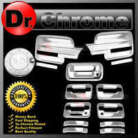 09-14 Ford F150 Chrome Mirror+4 Door Handle+keypad+PSG KH+Tailgate+Gas Cover