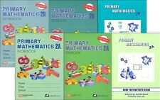 Primary Mathematics 2A & 2B Textbook, Workbook, & Home Instructor US edition