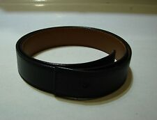 WOW Hermes Black Leather Belt