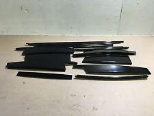 04-2010 BMW E83 X3 COMPLETE GLOSS SHINNY WINDOW DOOR TRIM MOLDING TRIMS OEM A