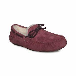 UGG Women Slip On Moccasin Slippers Dakota Size US 6 Redwood Suede