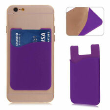 Silicone Phone Credit Card Holder Adhesive For BlackBerry Bold 9790