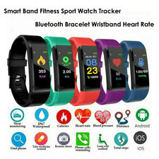 Smart Band Fitness Sport Watch Tracker Bluetooth Bracelet Wristband Heart Rate