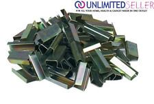 2000 X 12mm Metal Hand Pallet Strapping Banding Seal Clips Semi Open BULK