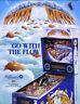 White Water Pinball FLYER 1993 Original NOS Williams Game Promo Artwork Sheet