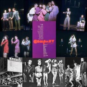 RARE Sondheim COMPANY Broadway Cares/EFA  Cap DOES ANYONE STILL WEAR A HAT?