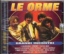 LE ORME raro CD GRANDI INCONTRI  Stampa italiana NUOVO SIGILLATO sealed 1990