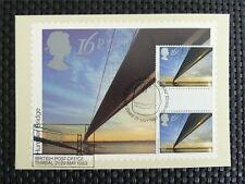 GB UK MK 1983 EUROPA CEPT GUTTER MAXIMUMKARTE CARTE MAXIMUM CARD MC CM c5054