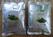 Certifed Organic 100g Indigo Powder + 100g Henna Powder Natural Hair Colour