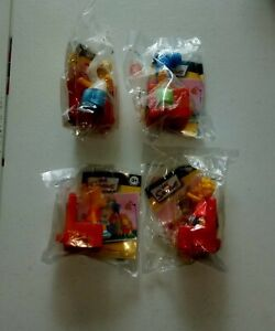 COUCH-A-BUNGA | SIMPSONS FIGURINES |  2008 BURGER KING TOYS | BART HOMER MARGE