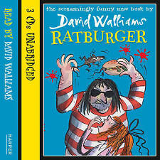 Ratburger by David Walliams ( 3 CD-Audio, 2012) NEW SEALED