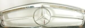 MERCEDES FRONT GRILL W113 PAGODA FULL STAR STAINLESS STEEL POLISHED GRADE SUS304