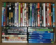 WHOLESALE LOT OF 60+ DVD'S - AS PICTURED