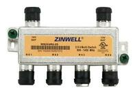 DIRECTV Approved Zinwell MS2X4RO-03 2x4 DTV Multiswitch with Weather Seals - NEW