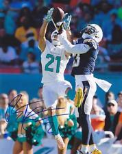 Brent Grimes Signed Miami Dolphins 8X10 Color Photo Coa
