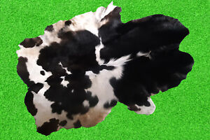 """100% New Cowhide Rugs Area Cow Skin Leather Rugs (49"""" x 43"""") Cow Hide Rug"""
