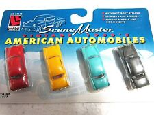 LIFE LIKE #1657 Diecast 1950's AMERICAN AUTOMOBILES 1:87 HO scale New in pack