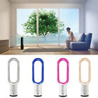 """4 Color Bladeless Fan 16"""" Remote Control Air Flow Cooling Fan Low db Summer Home"""