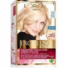 L'OREAL PARIS EXCELLENCE Permanent HAIR COLOR CREME 01 Lightest Natural Blond