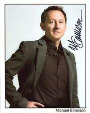 Michael Emerson Hand Signed 8x10 Color Photo+Coa Person Of Interest