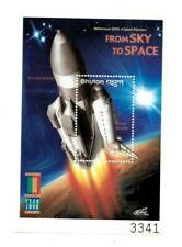 SPECIAL LOT Bhutan 2000 1292 - Space Rockets - 25 Souvenir Sheets - MNH