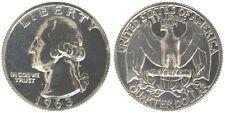Stati Uniti United States America USA 1/4 Quarter Dollar 1963 Argento Fdc #5931
