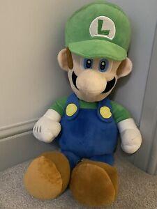 Official Giant Luigi plush soft toy (29inches/72cm)
