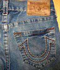 Original True Religion Jeans Geno Super T slim straight-cut W 31/34 Logan Bobby
