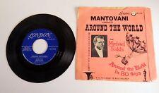 45 RPM London Record: Mantovani - Around the World - Road To Ballingary