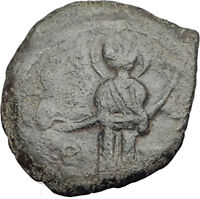 CRUSADERS of Antioch Tancred Ancient 1101AD Byzantine Time Coin St Peter i65119
