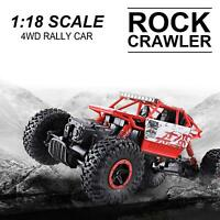 4WD RC Monster Truck Off-Road Vehicle 2.4G Remote Control Crawler +1pc Battery