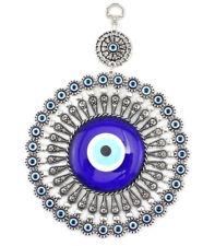 D11'' Turkish Evil Blue Eye Glass L28CM Charm Wall Hanging Amulet Nazar Boncuk