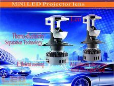 NEW H4 9003 Mini Bi-LED Projector 1.5 inch LED Headlight Lens Headlamp Retrofit