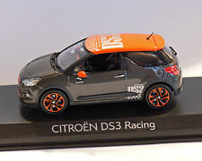 Citroen DS 3, Racing, grau-orange, 2010, NOREV 1:43