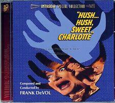 "Frank DeVol ""HUSH...HUSH SWEET CHARLOTTE"" score Intrada 1200-Ltd CD SEALED"