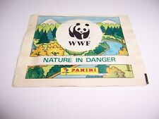 NATURA DA SALVARE WWF PACCHETTO FIGURINE PANINI SIGILLATO OTTIMO RARO LEGGI!!