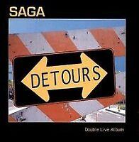 Detours/Live von Saga   CD   Zustand gut