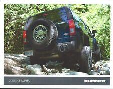 Truck Brochure / Ad - Hummer - H3 Alpha - 2008  (T2401)